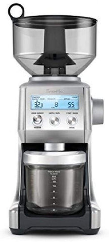 Breville Brushed Stainless Steel Pro Coffee Bean Grinder,