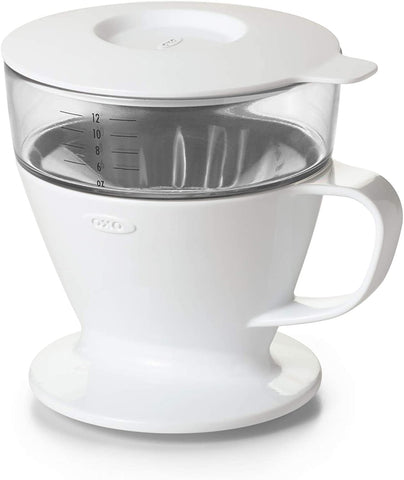 Auto-Drip Pour-Over Coffee Maker w/ Water Tank