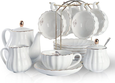 Pukka Home hualisi Porcelain Set, White