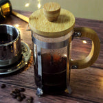 12 oz French Press w/ Durable Bamboo Handle