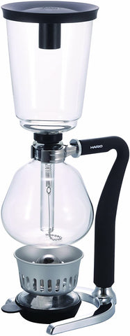 Hario Glass NEXT Syphon Coffee Maker with Silicone Handle, 5-Cup