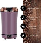 Huaguo Electric Coffee Bean Grinder w/ Stainless Steel Blade