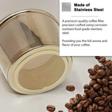 GOLDTONE Stainless Steel Coffee Filter