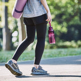Kinto Workout Bottle 480ml (16.2 oz) Magenta - Slicone Strap For Easy Carrying Lightweight And Durable Easy To Keep Clean