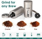 Java Presse Manual Conical Burr Mill Coffee Grinder