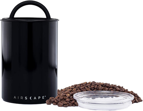 Airscape Coffee Storage Canister, Black
