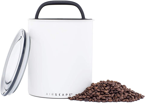 Airscape Coffee Storage Canister, White