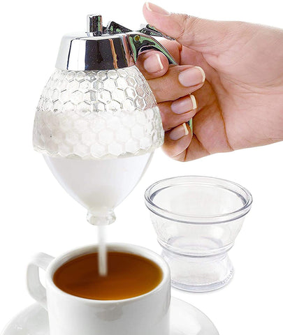 Glass Sugar Container / Dispenser for Coffee