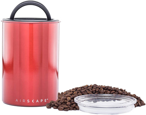 Airscape Coffee Storage Canister, Apple