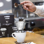 Stainless Steel Paperless Pour Over Coffee Dripper