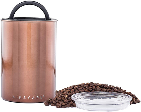 Airscape Coffee Storage Canister, Mocha