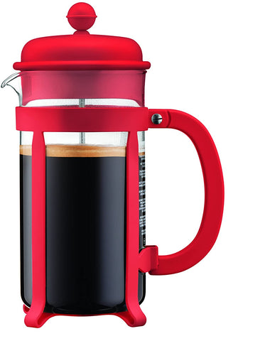 Bodum Java French Press Coffee Maker, 34 oz, Red