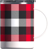 Asobu Stainless Steel Ceramic Mug (Plaid)