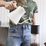 Matte White Fellow Stagg EKG Electric Pour-Over Kettle