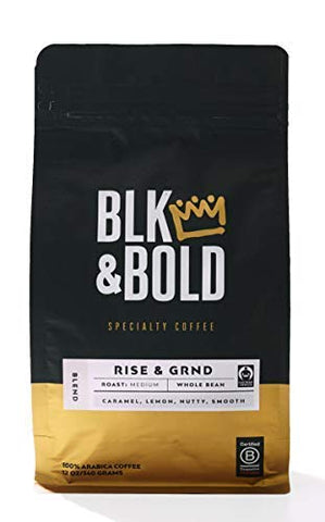 BLK & Bold | Rise & GRND Coffee Blend