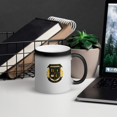 Matte Black Mug - Black Gold Exclusive