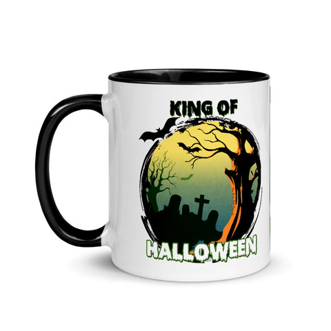 Graveyard King Of Halloween Collector's Mug - Shop The Busy Dad Network