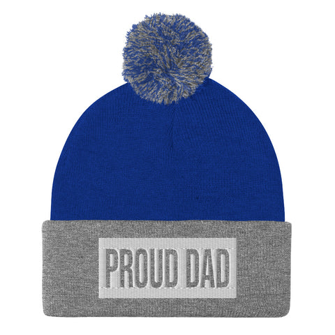 Proud Dad Pom-Pom Beanie - Shop The Busy Dad Network