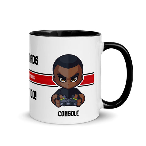 Black Dads Game Too On Consoles Collector's Mug - Shop The Busy Dad Network