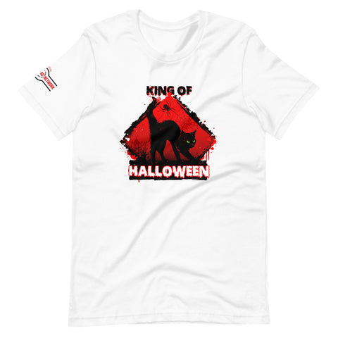 Black Cat King Of Halloween Shirt - Shop The Busy Dad Network