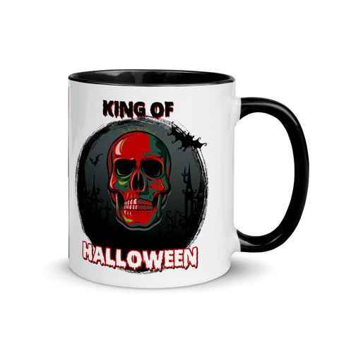 Skull King Of Halloween Collector's Mug - Shop The Busy Dad Network
