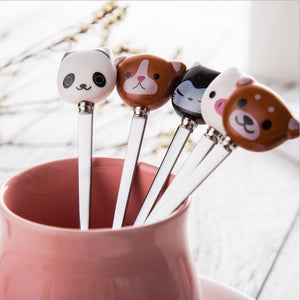 Coffee Spoon: Panda and Friends-Panda Wonders