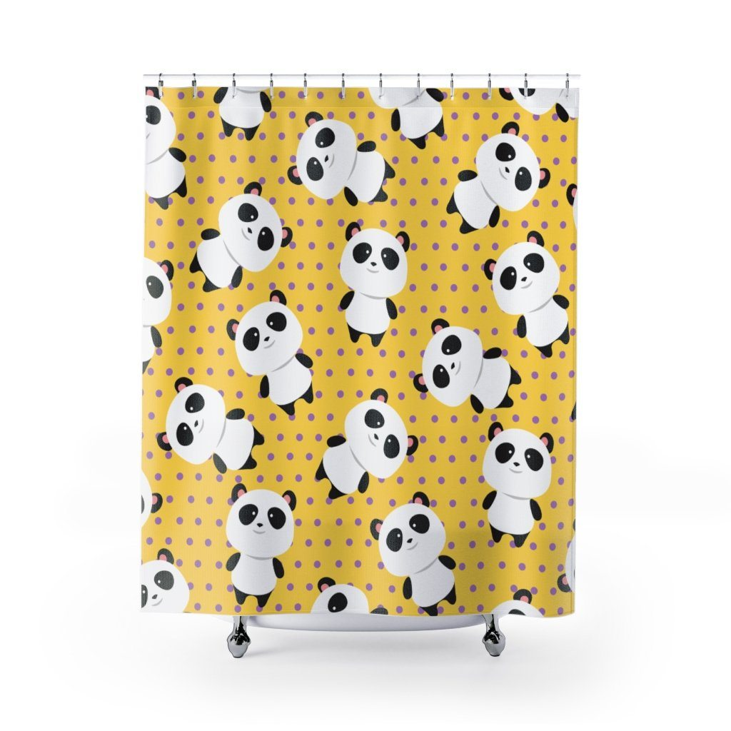Panda Shower Curtain: Relaxing Panda-Panda Wonders