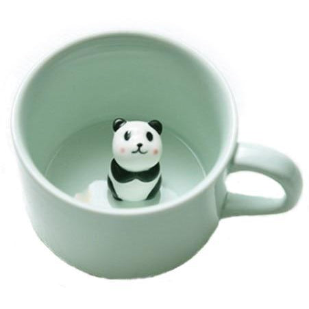 Peekaboo Animal Mugs-Panda Wonders