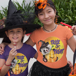 Trick or Treat Panda T-Shirt-Panda Wonders