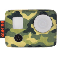 Xsories Tuxsedo,Jungle Camo Neoprene Jacket Compatible With Gopro Camera Housings