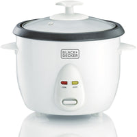 Black & Decker RC1050-B5 1.0-Liter Non-Stick Rice Cooker White