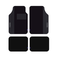 Sparco Universal 5pcs Car Mats - Black