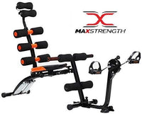 Six Pack Care With Pedal, Fitness Machine Abdominal Exercise, Multi Color