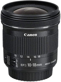 Canon 10-18 mm/F 4.5-5.6 EF-S IS STM 10 mm Lens