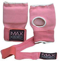 Max Strength-Boxing Hand Wraps Inner Gloves (Pink, L/XL)