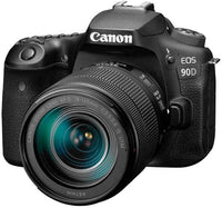 Canon 90D Digital SLR Camera with 18-135 IS USM Lens