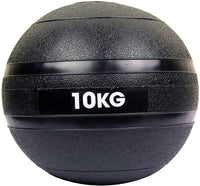 Max Strength - Medicine Slam Rubber Balls MMA Fitness Strength Training No Bounce Ball Great for Core Training & Cardio Workouts- 10Kg