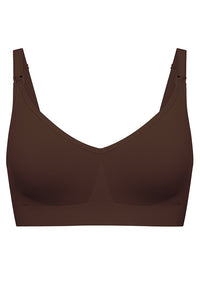 The Body Silk Seamless Nursing Bra - Cocoa By Bravado