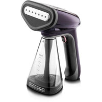 Black & Decker Handheld Garment Steamer 1500W 260ml HST1500-B5 - Purple