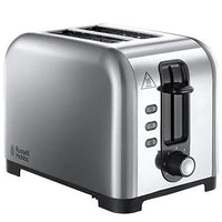 Russell Hobbs Henley Brushed 2 Slice Toaster Stainless Steel - 23530