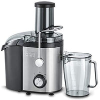 Black+Decker Juice Extractor 800W JE800-B5 Black/Silver/Clear