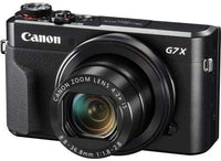 Canon PowerShot G7 X Mark II - 20.1 MP, Point & Shoot Camera, Black