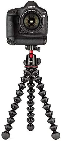 JOBY GorillaPod 5K Kit. Professional Tripod 5K Stand and Ballhead 5K for DSLR Cameras or Mirrorless Camera with Lens up to 5K Black/Charcoal.