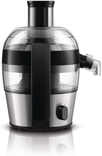 Philips QuickClean Viva Alumimium Collection Juicer, HR1836/05, Silver, 1 Year Brand Warranty, UAE Version