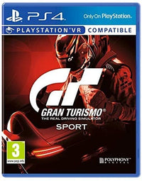 PS4 Gran Turismo Sport Std Edt