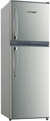SONASHI 198 LITRES DOUBLE DOOR REFRIGERATOR (SILVER) WITH FROST