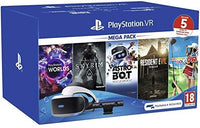 Sony Virtual Reality Bundle, VR Headset, VR Camera & 5 Games Voucher Codes For PlayStation 4