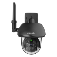 Motorola FOCUS73 Outdoor WiFi Camera Black