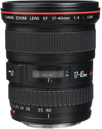 Canon EF 17-40mm f/4L USM Ultra Wide-Angle Lens