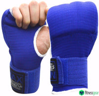Max Strength-Boxing Hand Wraps Inner Gloves (Blue, L/XL)…
